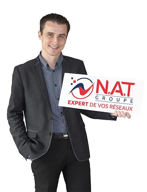 Thibault Nicollet PDG GroupeNAT
