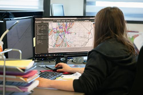 La cartographie des réseaux souterrains